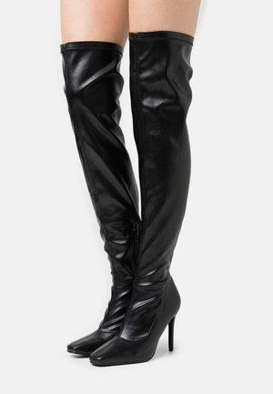 RUBIE - High heeled boots - black