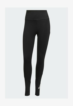 DESIGNED TO MOVE BIG LOGO SPORT LEGGINGS - Collants - black