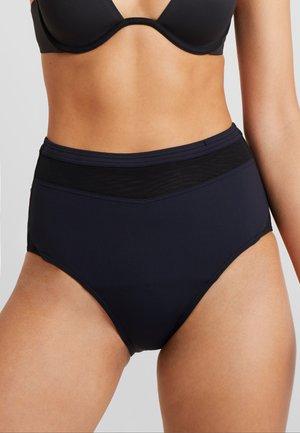 MIA BEACH SHAPING HIGH WAIST BRIEF - Bikini bottoms - black