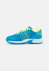 blue/fluo yellow