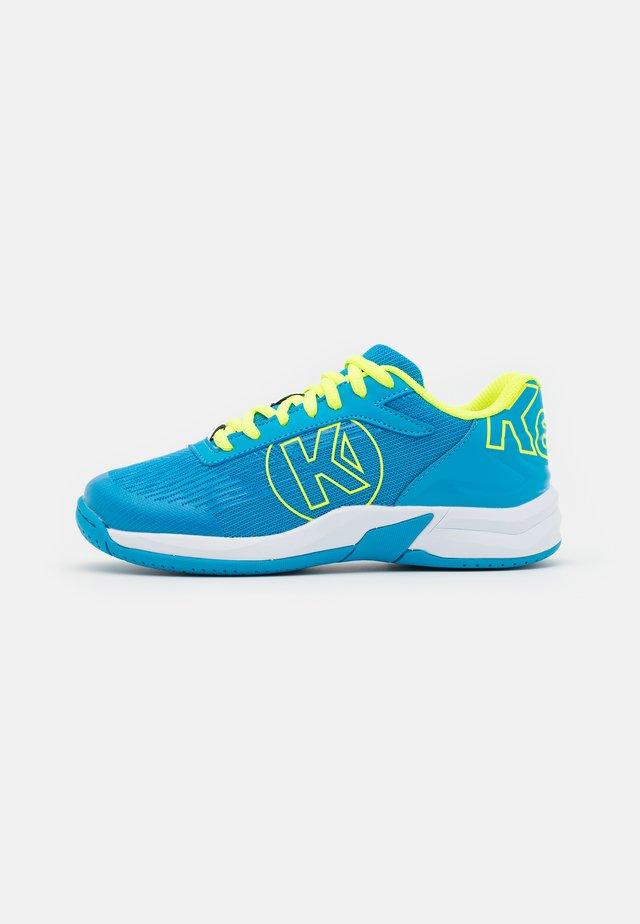 ATTACK 2.0 JUNIOR UNISEX - Handballschuh - blue/fluo yellow