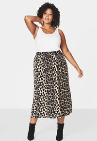 Zizzi - Maxi skirt - black - 0
