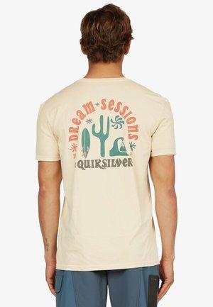 DREAM SESSIONS  - T-shirt imprimé - antique white