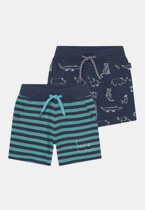 BABY 2 PACK - Shorts - dark blue/light blue