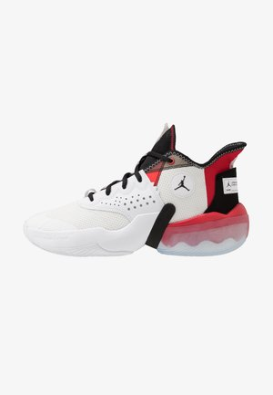 JUMPMAN DIAMOND 2 MID - Koripallokengät - white/black/university red