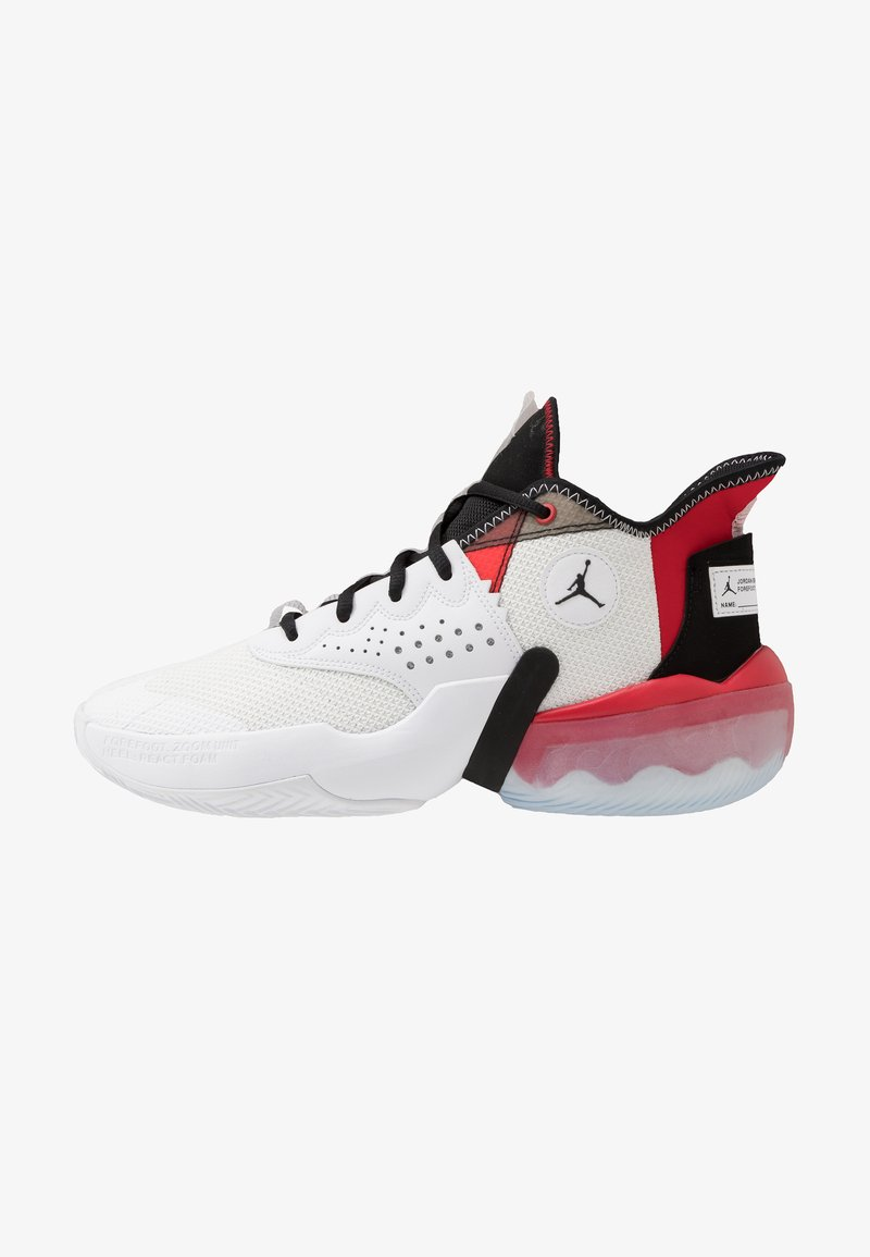 Jordan - JUMPMAN DIAMOND 2 MID - Basketbalové boty - white/black/university red