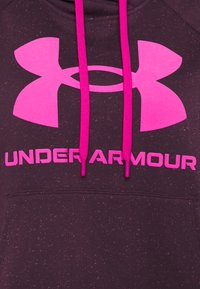 Under Armour - RIVAL LOGO HOODIE - Hoodie - polaris purple - 2