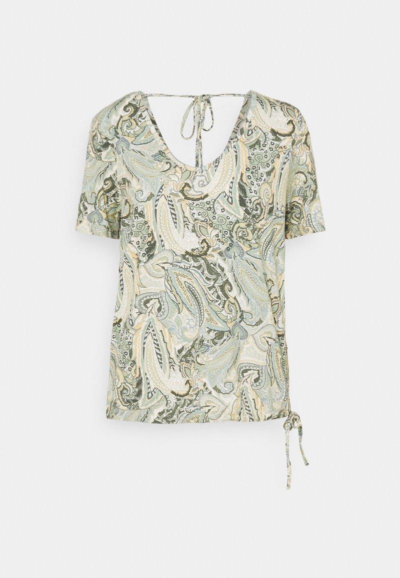 Cream - LULLA - Print T-shirt - desert sage