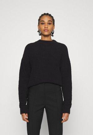 NA-KD X ZALANDO EXCLUSIVE - FLUFFY SWEATER - Pullover - black