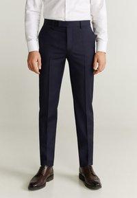 Mango - MILANO - Suit trousers - dunkles marineblau - 0