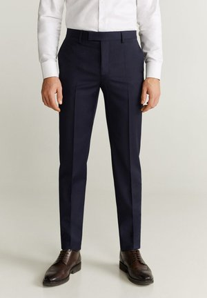 MILANO - Suit trousers - dunkles marineblau
