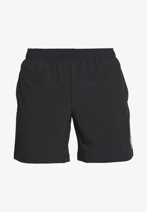 JCOZWOVEN - Korte broeken - black