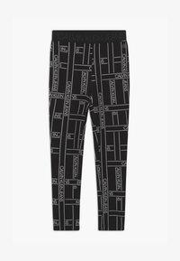 Calvin Klein Jeans - LOGO TAPE - Leggings - Trousers - black - 0