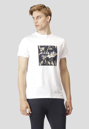 JONAS - T-shirt print - white