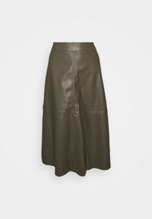 HARLEY - A-line skirt - olive night