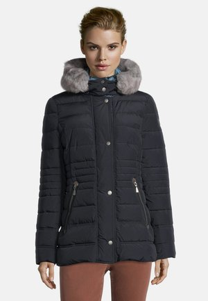 KUNSTDAUNE - Winter jacket - donkerblauw