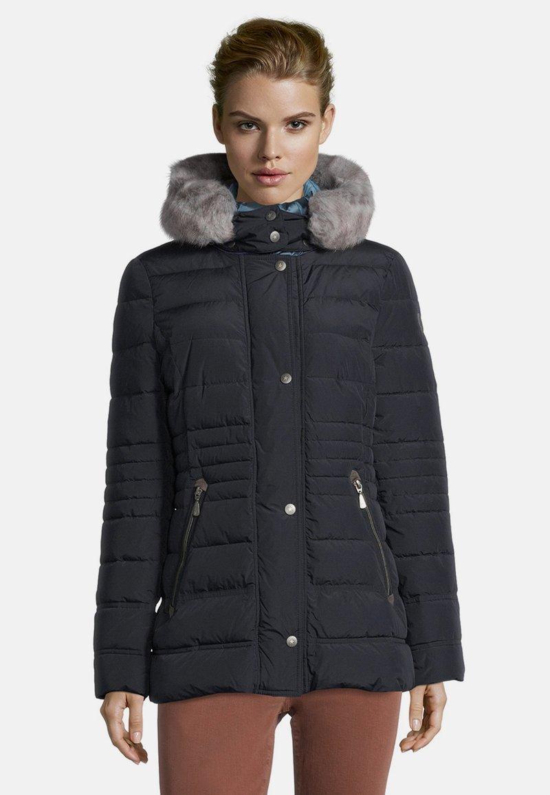 Gil Bret - KUNSTDAUNE - Winter jacket - donkerblauw