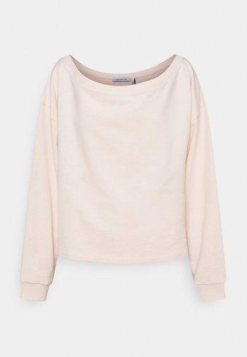 OFF SHOULDER LOUNGE - Sweatshirt - pink
