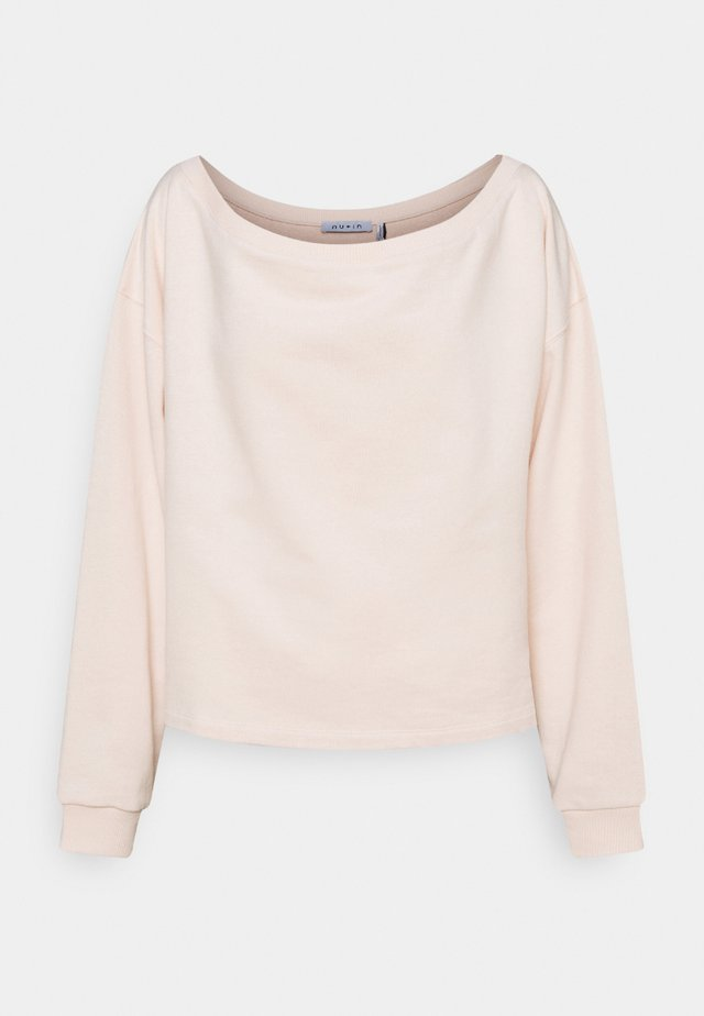 OFF SHOULDER LOUNGE - Felpa - pink