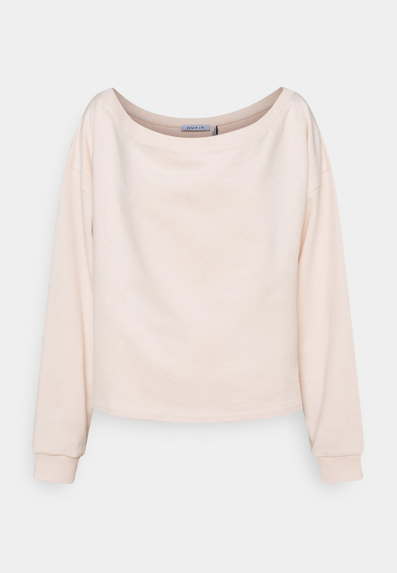 NU-IN - OFF SHOULDER LOUNGE - Sweatshirt - pink
