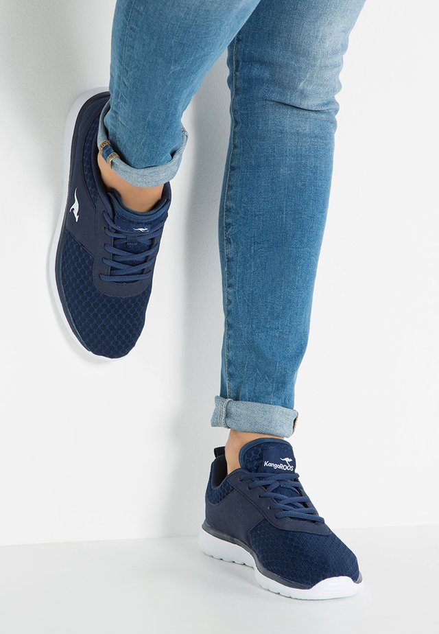 BUMPY - Sneakers laag - dark navy