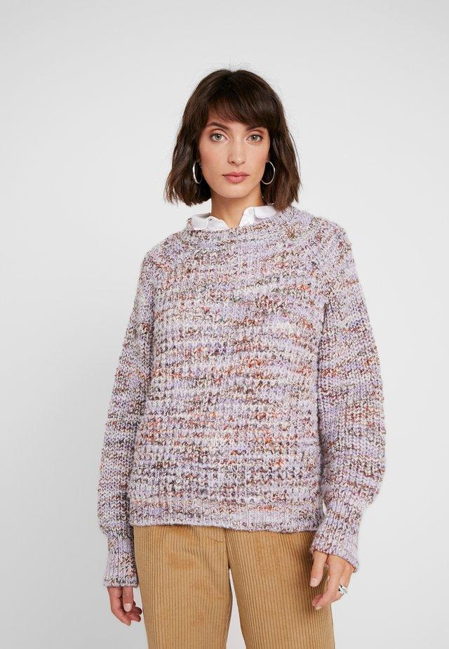 DEBBIE - Sweter - lavendula combi