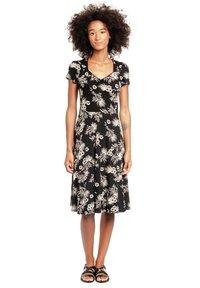 Vive Maria - TROPICAL BLOSSOM - Jumper dress - schwarz allover - 0