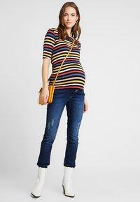 Esprit Maternity - PANTS - Slim fit jeans - darkwash - 1
