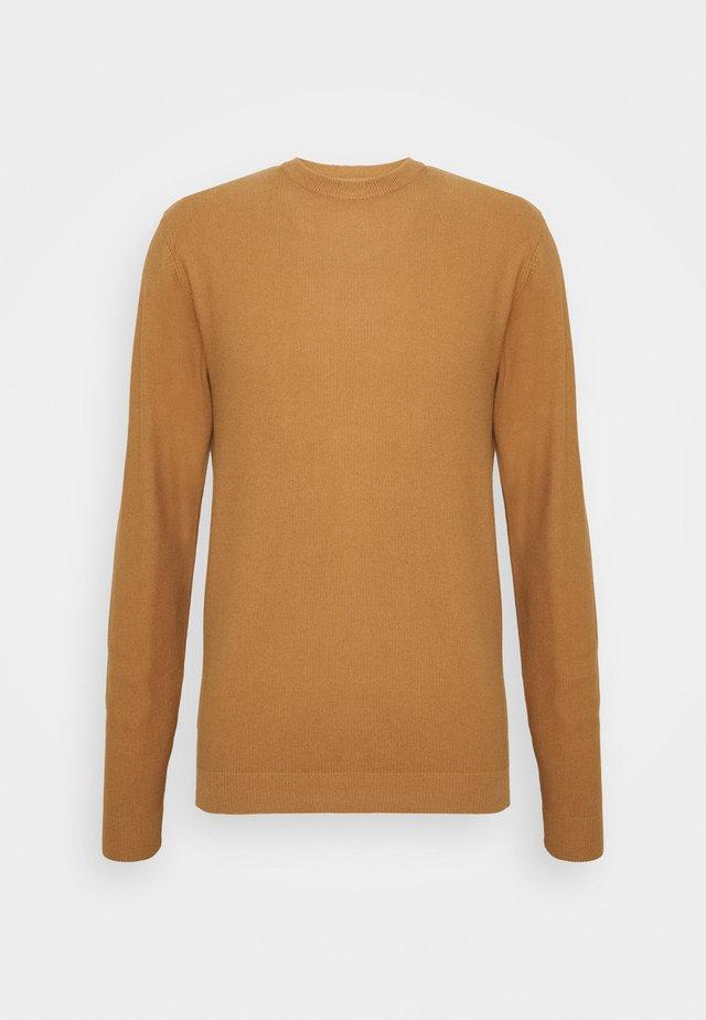 CURTH - Pullover - tobacco brown