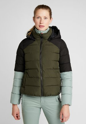 MANEUVER INSULATOR JACKET - Kurtka snowboardowa - forest night
