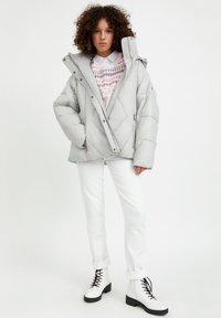 Finn Flare - Winter jacket - light grey - 1