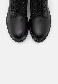 Tamaris - BOOTS - Bottines à lacets - black - 5