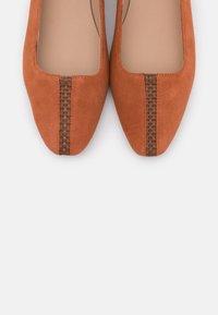 Zign - Ballet pumps - orange - 5