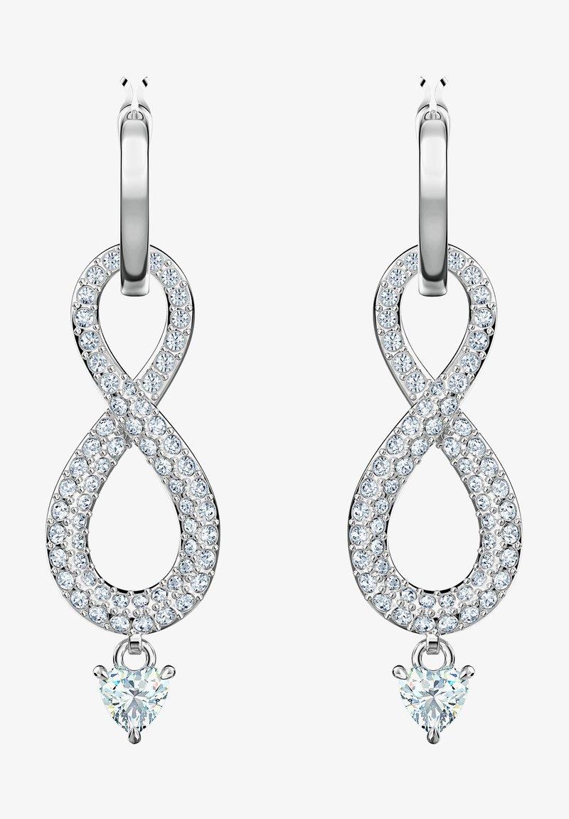 Swarovski - INFINITY - Earrings - silber