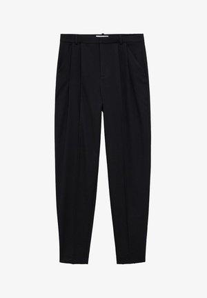 NAPOLIS - Pantalon classique - noir