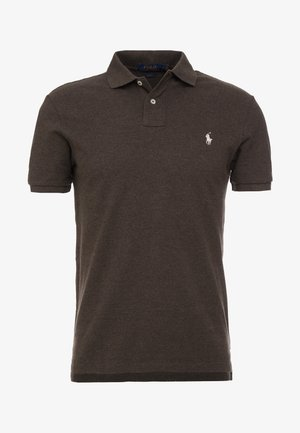 SLIM FIT MODEL  - Polo shirt - alpine brown heat