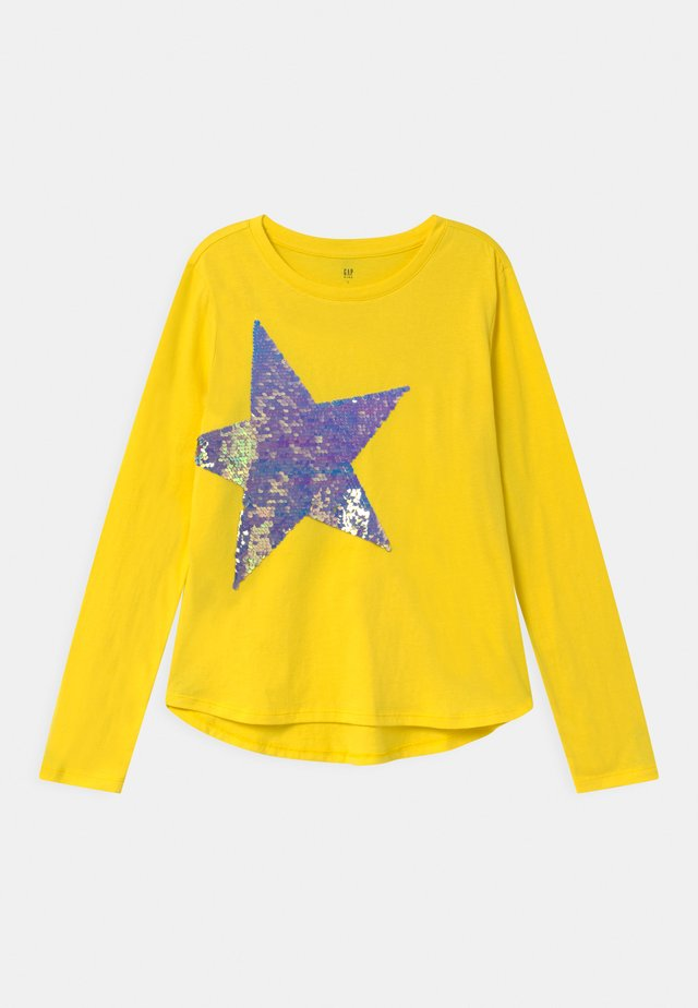 GIRL  - Long sleeved top - bright neon yellow