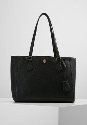 ROBINSON SMALL TOTE - Handbag - black