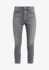 Citizens of Humanity - OLIVIA CROP HIGH RISE ANKLE - Jeans Straight Leg - granite - 3