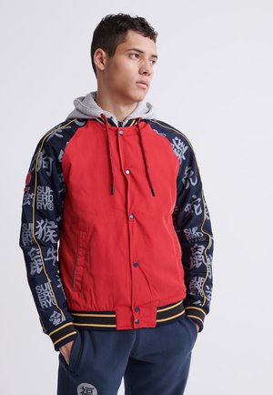 Bomber Jacket - rebel red