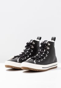 Converse - HIKER BOOT - Sneakers hoog - black/egret - 2