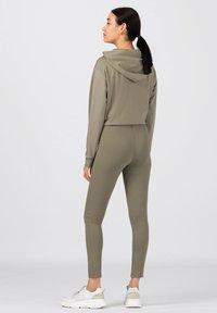 HALLHUBER - aus Interlock - Leggings - Trousers - salbei - 1