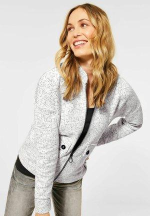 Zip-up hoodie - weiß