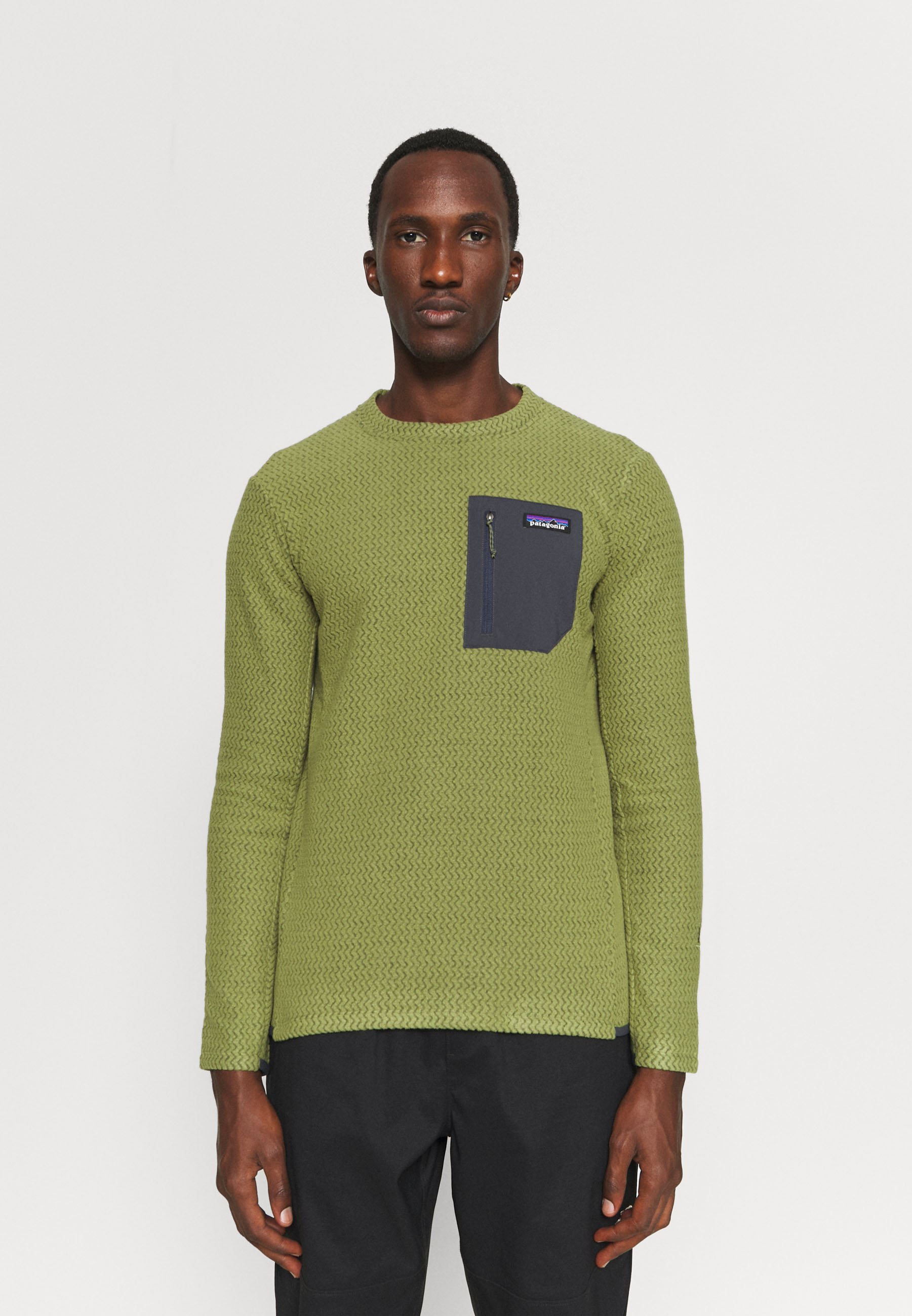 Men R1 AIR CREW - Fleece jumper