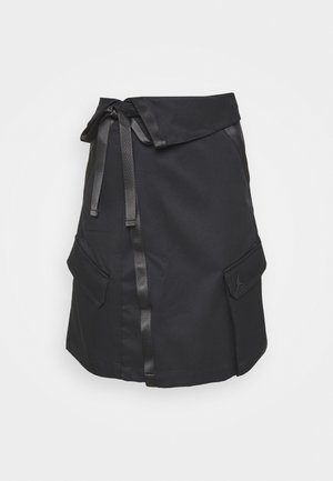 UTILITY SKIRT FUTURE - Jupe trapèze - black