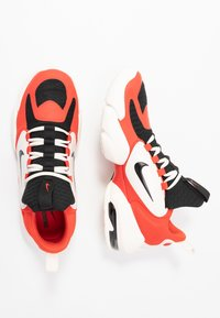 Nike Performance - AIR MAX ALPHA SAVAGE - Sports shoes - habanero/black/pale ivory