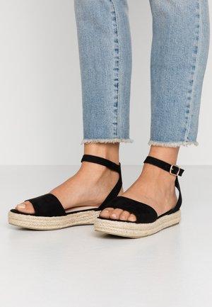 DENNY - Loafers - black
