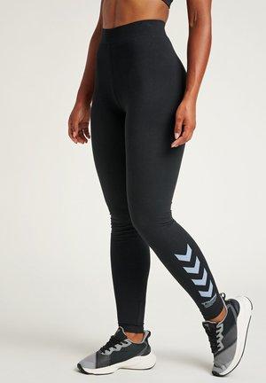 CATE HIGH WAIST - Leggings - black