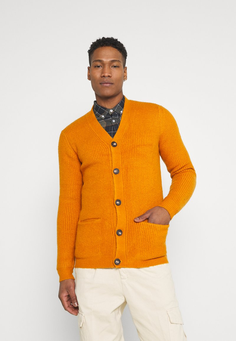 Redefined Rebel - TOBY CARDIGAN - Cardigan - golden oak