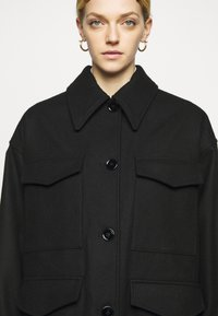 MM6 Maison Margiela - Short coat - black - 6